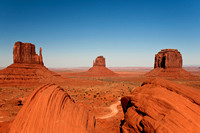 Buttes in Monument Valley, Arizona