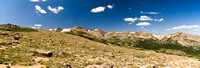 Panorama of Sub-Alpine Region in Colorado Rocky Mountains
