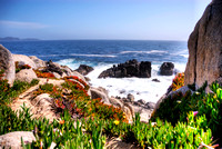 HDR Image of Monterey Bay from 17 Mile Drive