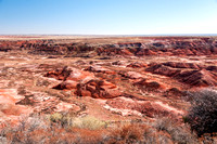 The Painted Desert in Arizona