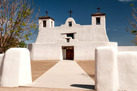 Mission St. Augustine in the Isleta Pueblo, New Mexico