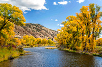 Colorado River in the Fall