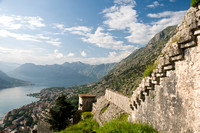Ancient Fortification at Kotor, Montenegro