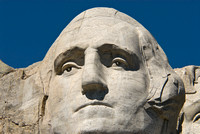 George Washington on Mount Rushmore