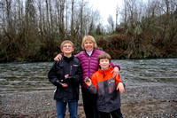 Linda with Jason's Two Boys
