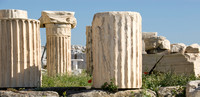 Columns from the Parthenon