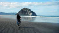 Riding my Bike and Morro Rock