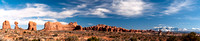 Panorama in Arches National Park, Utah