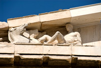 Architectual Detail of The Parthenon