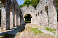 Ruin of Ancient Church in Butrint, Albania