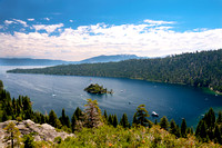 HDR Image of Emerald Bay, Lake Tahoe, California