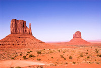 The Two Mittens in Monument Valley, Arizona